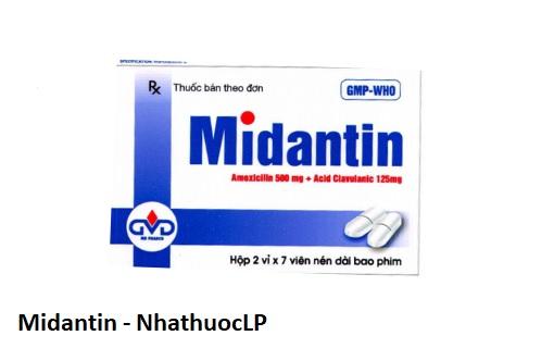 biện pháp phòng ngừa của Midantin